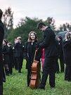 Mladý orchestr vzdal hold přírodě, skály naslouchaly dialogu Země a člověka