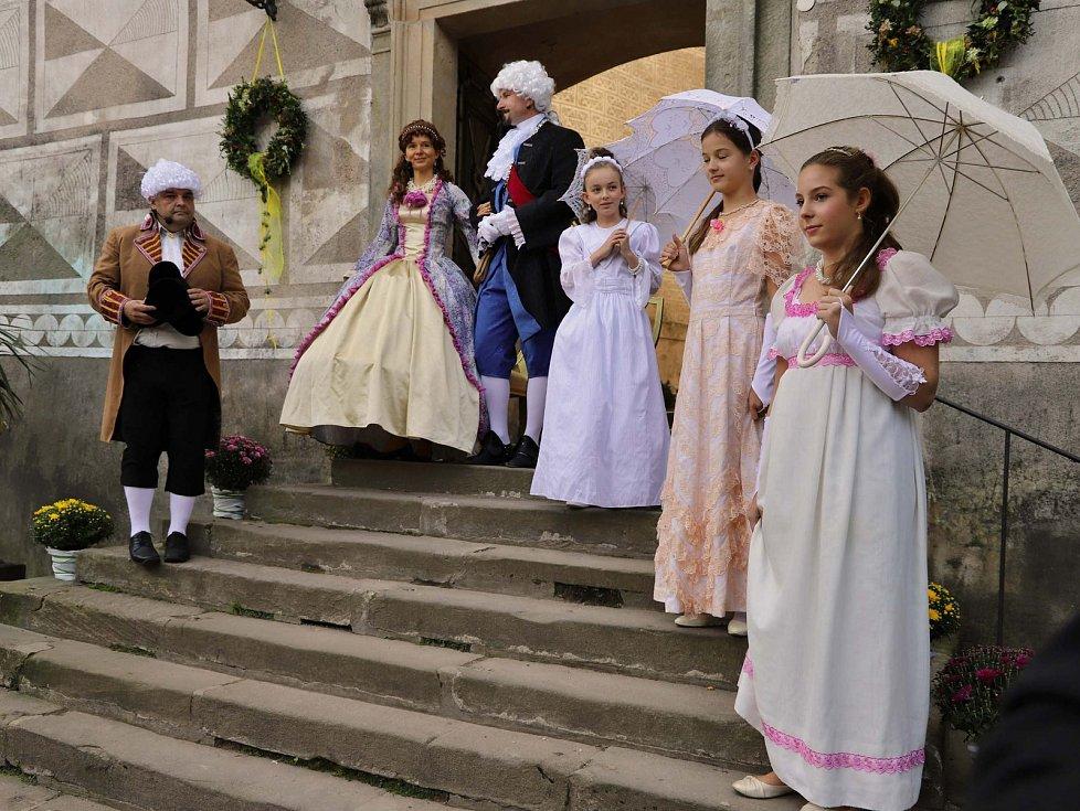Vévoda Kuronský s družinou opět zavítal do Náchoda.