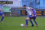 Fotbalová divize C: FK Náchod - Poříčany.