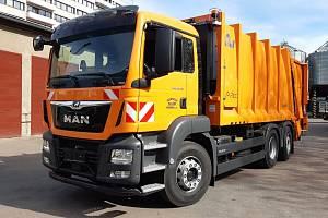 Nové vozy zajišťují svoz odpadu výhodněji.