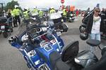 Spanilá jízda motocyklů Honda Gold Wing od Autokempu Rozkoš.