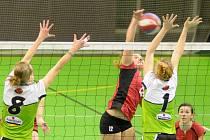 V první juniorské lize si červenokostelecké hráčky poradily s pražským Orionem.