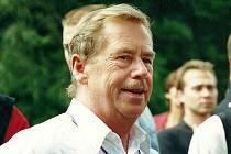 Návštěva Václava Havla na Broumovsku v roce 2001.