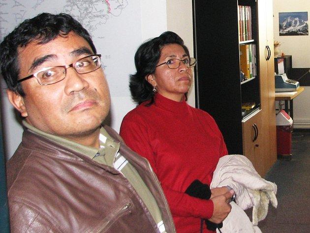 Peruánští hosté na SÚS Náchod.
