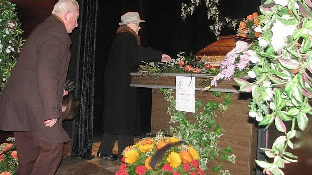 Poslední rozloučení s Miloslavem Čermákem.