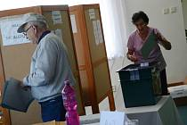 Volby do Evropského parlamentu ve Velké Jesenici.