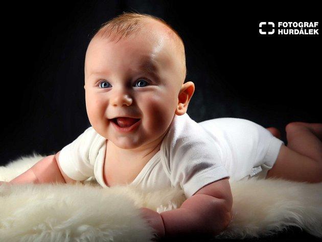 ZBYŠEK KOVÁŘIK z Nového Města nad Metují se stal nejkrásnějším miminkem měsíce května.