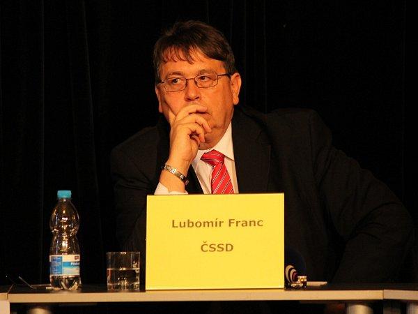 Lubomír Franc (ČSSD).