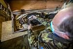 Mumie v Jaroměři procházejí důkladnou očistou.