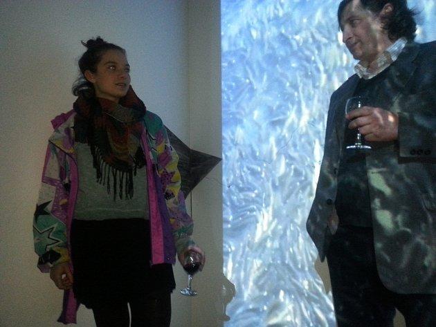 Výstava malířky Mariky Volfové v Galerii Luxfer v České Skalici.