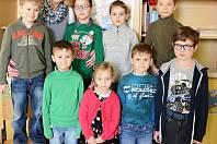 Žáci 1. třídy ze ZŠ Bohuslavice