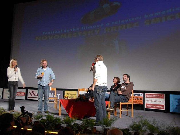 Ze 30. ročníku Novoměstského hrnce smíchu - 23. září 2008.