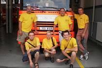 Hasiči z Bělovsi se vydali na poznávací výlet na Moravu za svými kolegy, se kterými loni pokořili rekord v dálkové dopravě vody a navázali velmi přátelské vztahy.