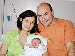 KATEŘINA MACHOVÁ se narodila 12. ledna 2012 v 11:57 hodin s váhou 3880 gramů a délkou 51 centimetrů. Spolu s rodiči Leonou a Romanem mají domov v Polici nad Metují.