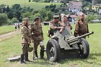 Akce na Dobrošově podpořila vojáky.