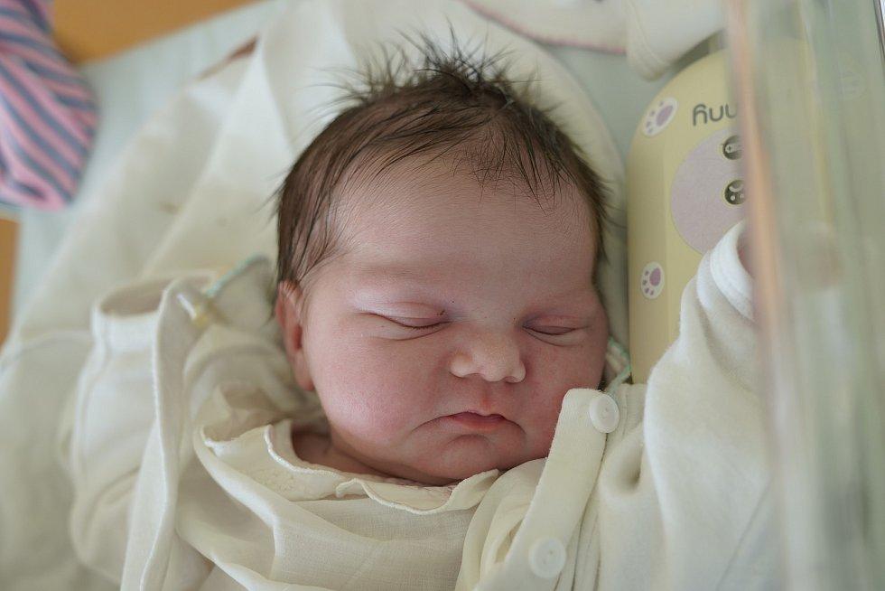 Eliška Hůlková z Domašína spatřila světlo světa 3. března 2020 v 9,13 hodin. Její míry byly 3165 gramů a 48 centimetrů. Z holčičky se radují rodiče Ilona a Michal Hůlkovi i bráška Michal (10,5 roku).