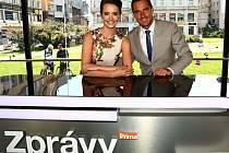 Zprávy FTV Prima budou na místě moderovat Gabriela Kratochvílová a Roman Šebrle.