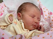 ADRIANA NEMČEKOVÁ z České Čermné se narodila 18. prosince 2016 v 01.26 hodin. Její míry byly 3840 g a 51 cm. Šťastní rodiče Iveta Maršíková a Dušan Nemček mají ještě sedmiletého Martina.