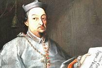 PORTRÉT prvního královéhradeckého biskupa Matouše Ferdinanda Sobka z Bilenberka.