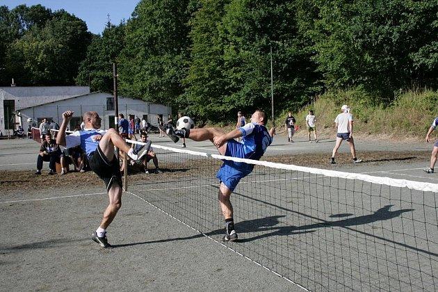 NOHEJBAL. Turnaj se uskuteční v sobotu 29. srpna na hřišti u Sokolovny ve Starkoči.