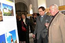 Výstava Via benedictina v městském muzeu v polickém klášteře.