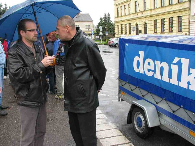 Den s Deníkem v České Skalici.