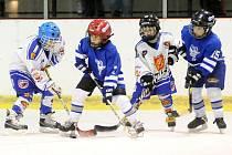 Mladí hokejisté Hronova neobhájili v domácím turnaji své loňské vítězství. O prvenství je nakonec připravilo pouze horší skóre.