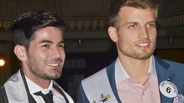 Muž planety (vlevo) spolu s Mužem roku 2014.