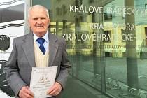 Oceněný Stanislav Jirásek z Nízké Srbské.