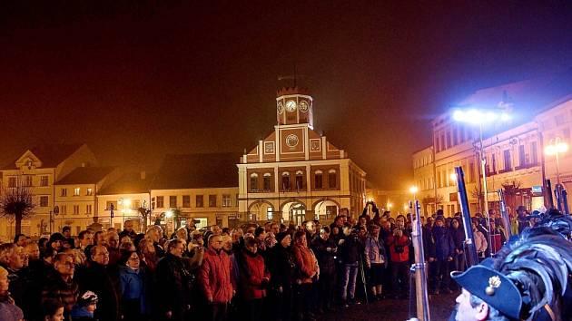 Stovky turistů zavítaly do Police na zimní sraz.