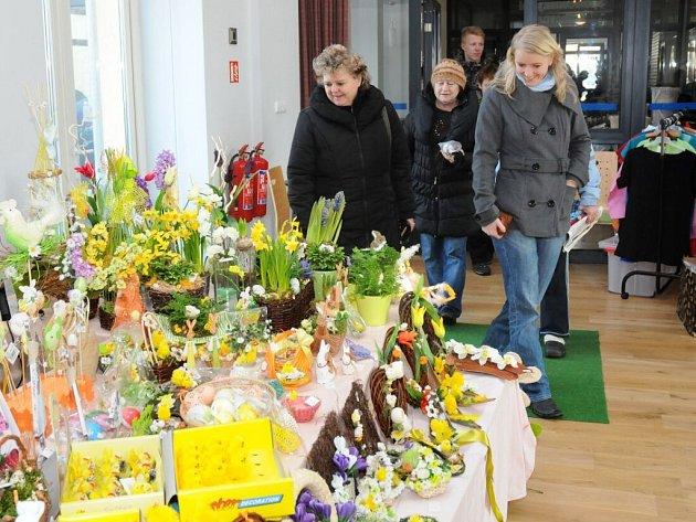 Velikonoční výstava ve Velkém Poříčí.
