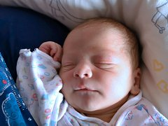 ROBIN HAMAN je z Náchoda, narodil se 27. března 2018 v 01,27 hodin a vážil 3375 gramů. Šťastní rodiče Romana a Jiří Hamanovi mají doma ještě tříletou holčičku Sáru.