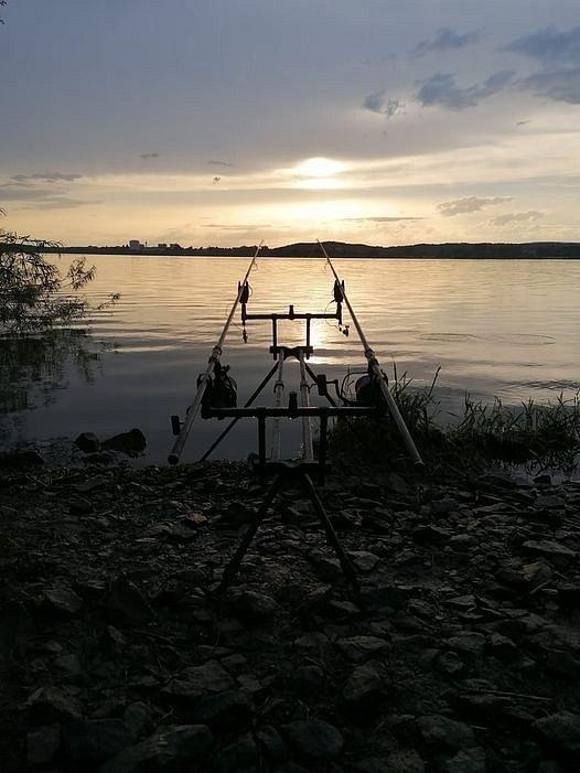 Lukáš Mihálik a jeho rybaření na Rozkoši.