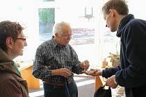 Výstava hub lákala od pátku do soboty zájemce v Novém Městě nad Metují do sborového domu Církve bratrské.