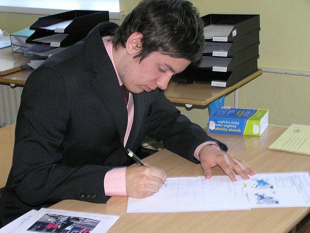 Studenti Jiráskova gymnázia gymnázia v Náchodě skládali zkoušky dospělosti i v průběhu tohoto týdne.