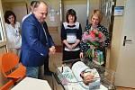 Prvním náchodským miminkem je Vincent.
