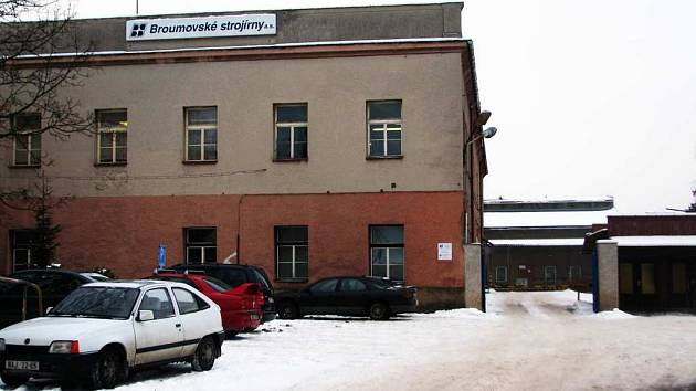 Broumovské strojírny Hynčice  se se také potýkají s ekonomickou krizí.