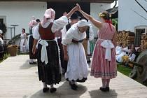 Mlynářské slavnosti na zahradě Rudrova mlýna v Ratibořicích.