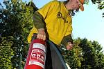 Mladí hasiči předvedli svou zdatnost na soutěži.