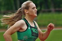 TEREZA ŠKODOVÁ je jednou z těch novoměstských atletek, která bude na domácím halovém šampionátu usilovat o medailové příčky.