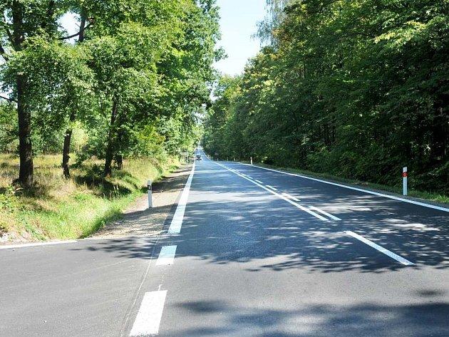 NA BROUMOV se už jezdí po opravených silnicích.