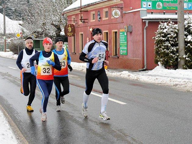 Již tradičně na první lednovou sobotu uspořádala TJ Horní Kostelec další ročník silničního Novoročního běhu.