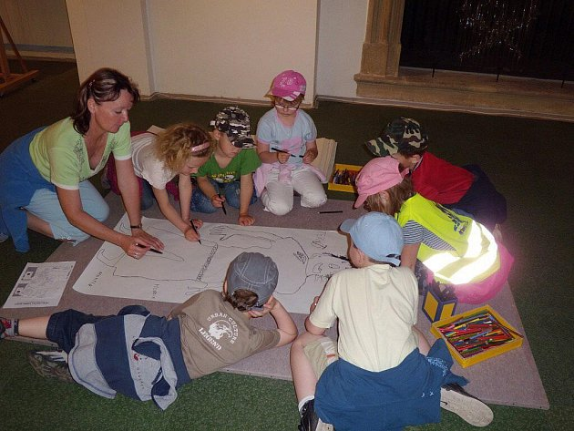 Galerie o prázdninách patří dětem a rodičům.