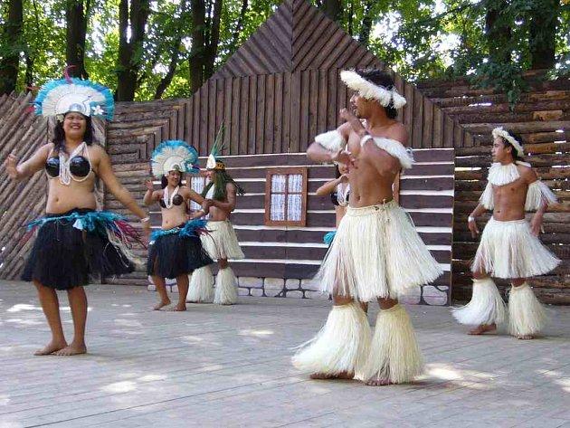 Na loňském ročníku Mezinárodního folklorního festivalu se mimo jiných účinkujících představil také soubor z Cookových ostrovů, který většinu diváků velmi zaujal.