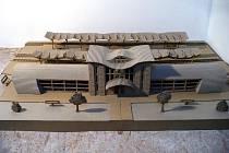 Model nádraží.