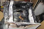 Požár v bytě v Meziměstí.
