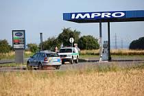 Benzinová čerpací stanice ve Spech u Nového Města nad Metují se stala terčem zlodějů.