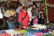Vánoční trhy v Hronově.