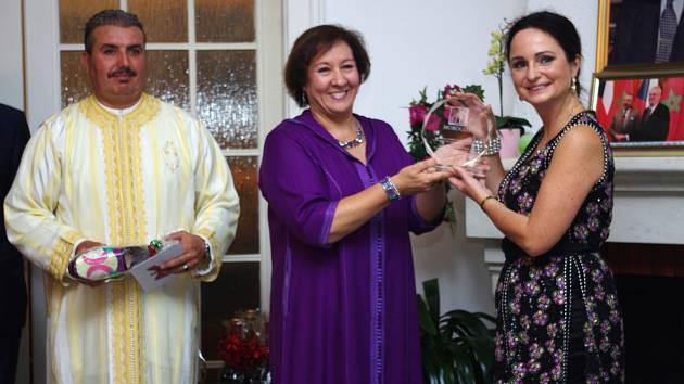 DANA MINAŘÍKOVÁ získala speciální a velmi významnou cenu Marockého království.