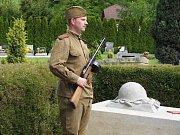 Na městském hřbitově v České Skalici se uskutečnila pietní vzpomínka u příležitosti 70. výročí ukončení 2. světové války.